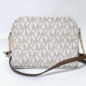 4bd88937c1ca Michael Kors Bags - NWT MK Cindy Dome Crossbody Bag Vanilla